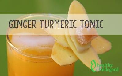 ginger tumeric tonic