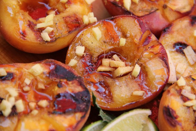 Recipe for Grilled Peaches
