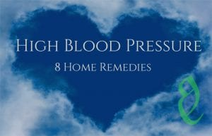 high blood pressure home remedies