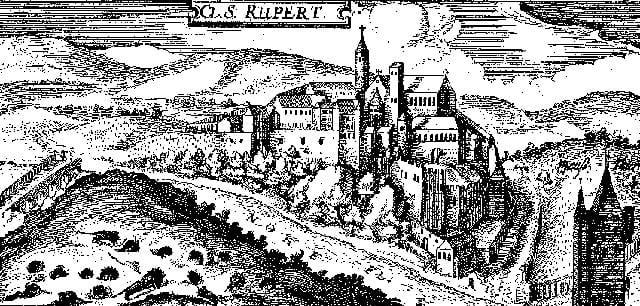 Rupertsberg Monastery founded by Abbess Hildegard of Bingen