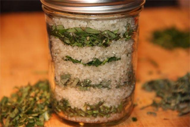 preserve fresh herbs 9