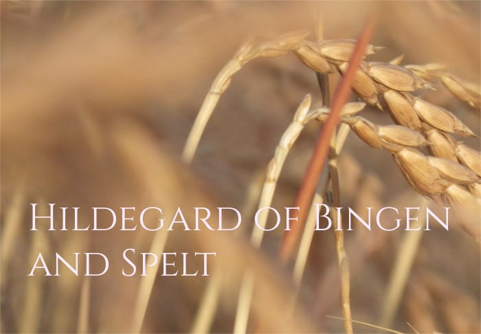 Hildegard von Bingen and Benefits of Spelt