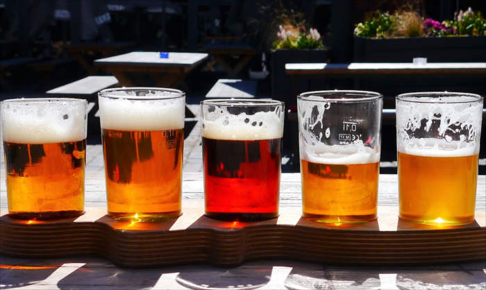 Beer bitter foods