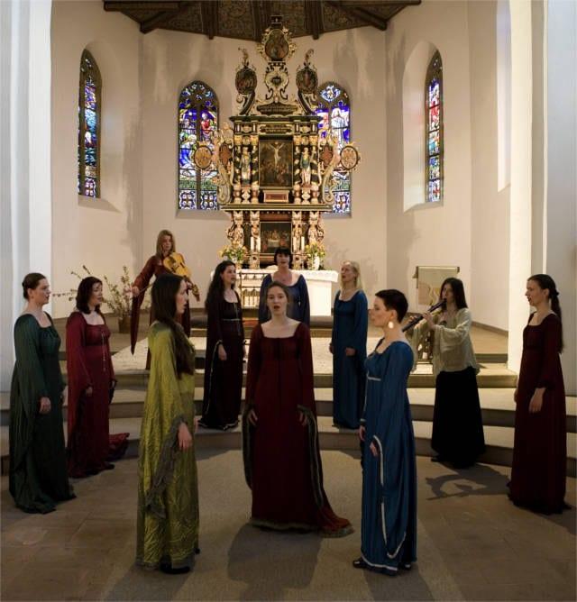 Music of Hildegard of Bingen gregorian chants