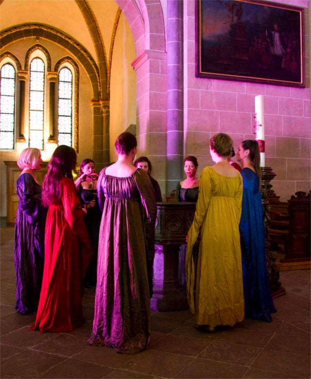 Music of Hildegard of Bingen performance