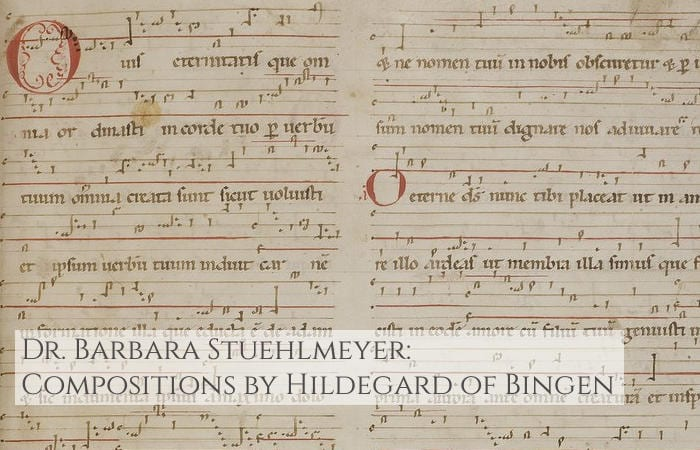 Compositions by Hildegard of Bingen stuehlmyer