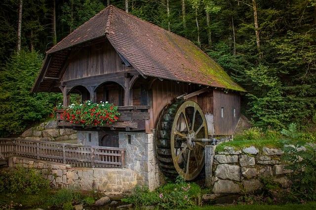 spelt flour water mill