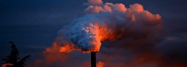 Pollution leaving a smokestack - Healthy Hildegard