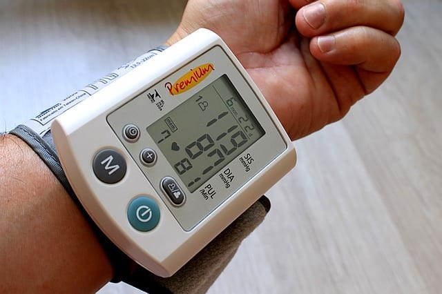 measurement for low blood pressure