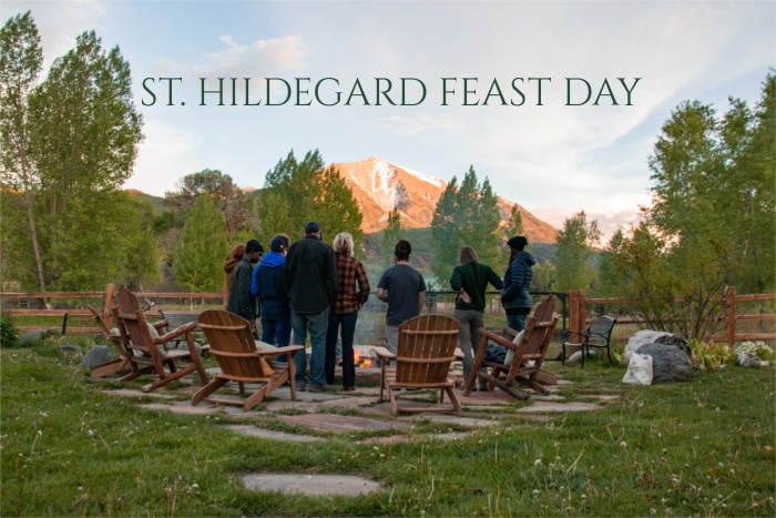 HILDEGARD FEAST DAY 1