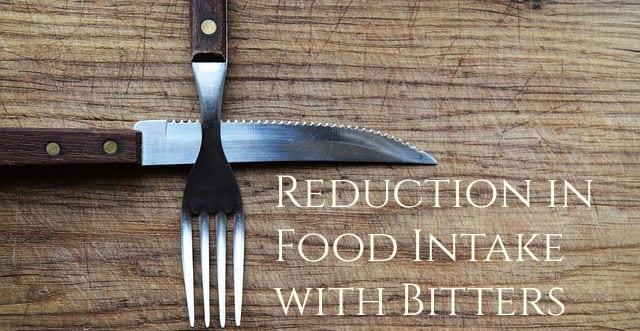 Bitter Herbs lower appetite