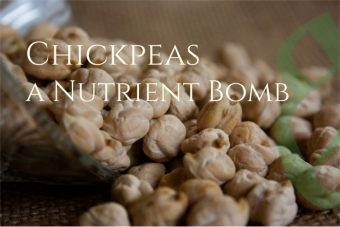 Chickpeas, a healthy nutrient bomb