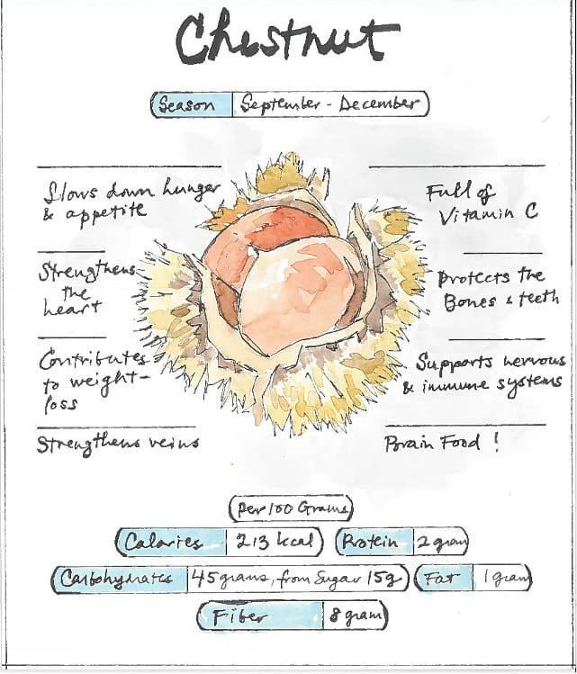 Infographic Chestnuts
