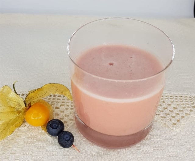 Bitter Smoothie with Grapefruit