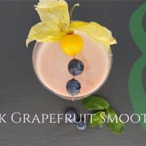 Pink Grapefruit Smoothie Recipe