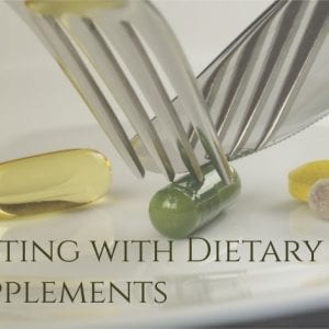 Fasting with Dietary Supplements and Vitamins