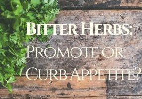 Bitter herbs for for appetite control and heathy digestion 1