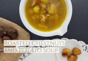 Chestnuts and potato soup